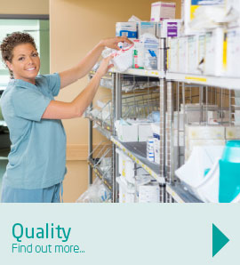 Our products meet the high quality required for medical best practice