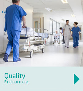 Our customers expect the correct medical grade quality