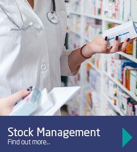 We provide medical stock management solutions