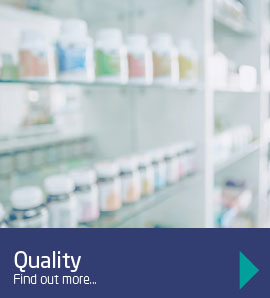 Our quality control aims to avoid issues with stock management
