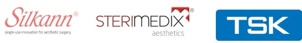We work with leading aesthetics brands such as Silkann, Sterimedix and TSK