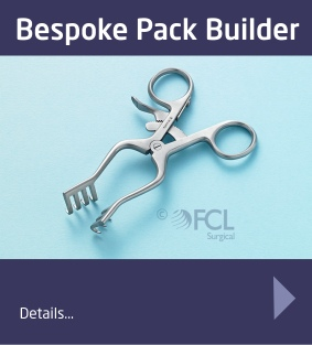 Design your own Procedure pack with our Bespoke Pack Builder Service