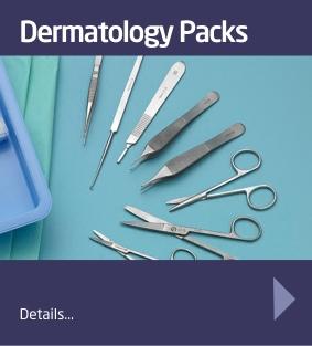 Dermatology Procedure Packs